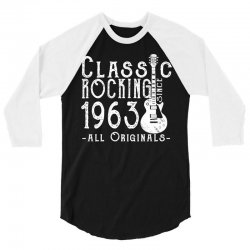 rocking since 1963 copy 3/4 Sleeve Shirt | Artistshot