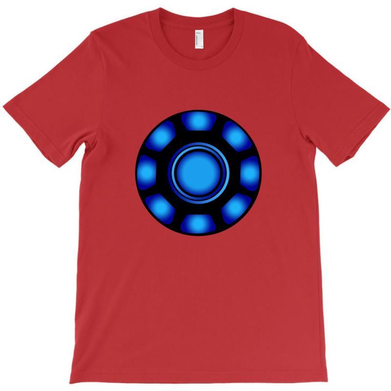 Iron Man Arc Fusion Chest Reactor Power Generator Inspired T-shirt   Artistshot