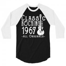 rocking since 1967 copy 3/4 Sleeve Shirt | Artistshot
