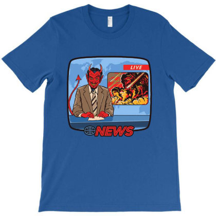 Breaking News T-shirt Designed By Gomyar
