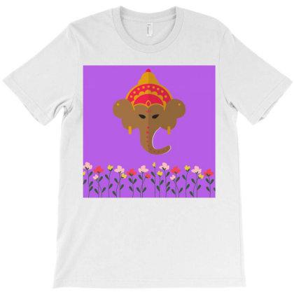 Hindu Lord Shri Ganesh T-shirt Designed By American Choice
