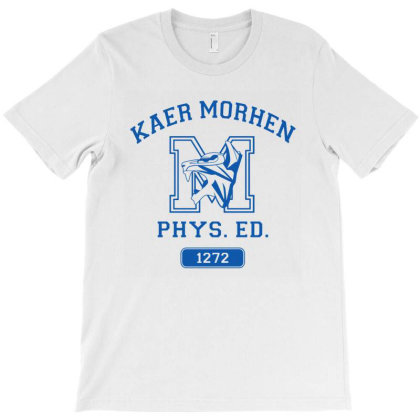 Kaer Morhen Gym, Gym Shirt T-shirt Designed By Tasha
