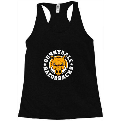 Sunnydale High School Logo Merch Racerback Tank Designed By Elokna