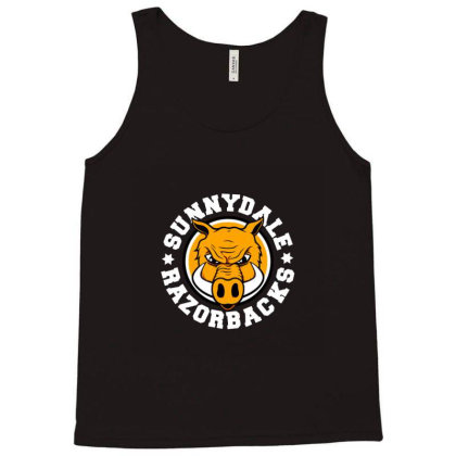 Sunnydale High School Logo Merch Tank Top Designed By Elokna