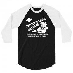 jerryboree daycare 3/4 Sleeve Shirt | Artistshot