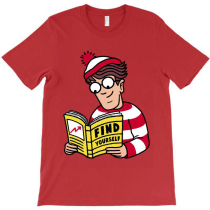 Find Yourself T-shirt Designed By Raffiti