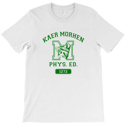 Kaer Morhen Gym, Gym Shirt T-shirt Designed By Arum