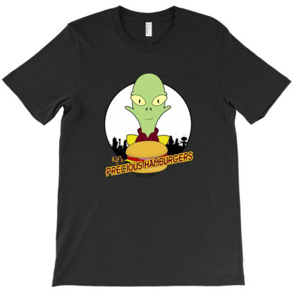Precious Hamburgers T-shirt Designed By Dransa