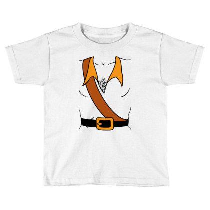 Gaston Costume Toddler T-shirt Designed By Batikmadrim Art