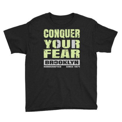 Conguer Your Fear Brooklyn Youth Tee