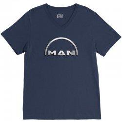 man logo truck V-Neck Tee | Artistshot