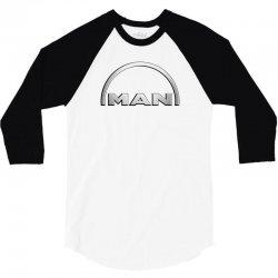 man logo truck 3/4 Sleeve Shirt | Artistshot