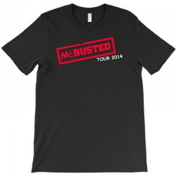 mcbusted tour 2014 hooded top busted T-Shirt   Artistshot