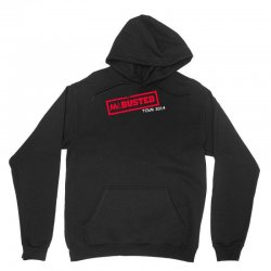 mcbusted tour 2014 hooded top busted Unisex Hoodie   Artistshot