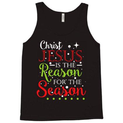 Christ Jesus Is The Reason For The Season Tank Top Designed By Batikmadrim Art