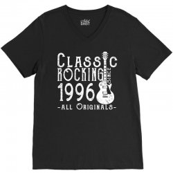 rocking since 1996 copy V-Neck Tee | Artistshot