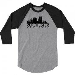 rochester new york 3/4 Sleeve Shirt   Artistshot
