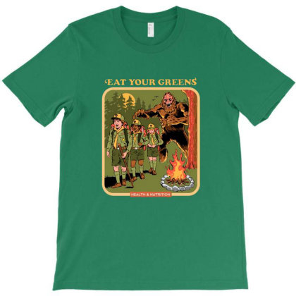 Eat Your Greens T-shirt Designed By Brandon