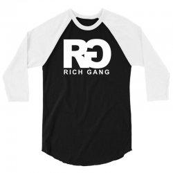 rg rich gang drake lil wayne hipster 3/4 Sleeve Shirt   Artistshot
