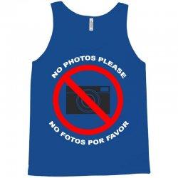 no photos please Tank Top   Artistshot