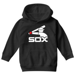 awesome logo chicago sox Youth Hoodie   Artistshot