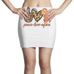 peace love africa Mini Skirts | Artistshot