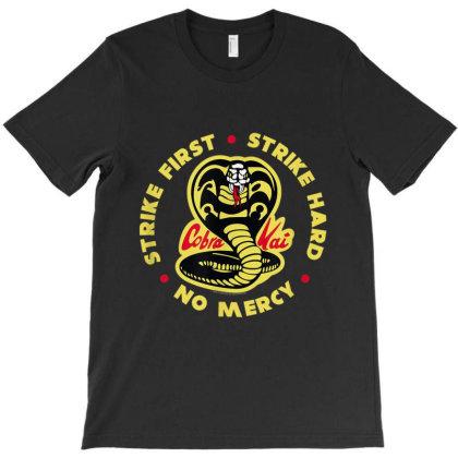 Cobra Kai Strike First Cobra Logo T-shirt Designed By Conco335@gmail.com