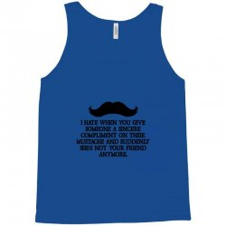 shes not your friend anymore moustache Tank Top | Artistshot