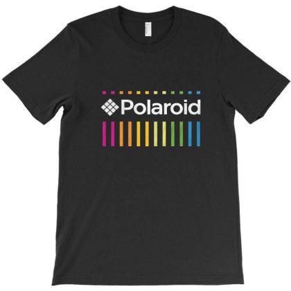 Polaroid Color Spectrum T Shirt T-shirt Designed By Davida