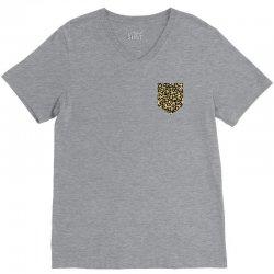 cheetah print pocket V-Neck Tee | Artistshot