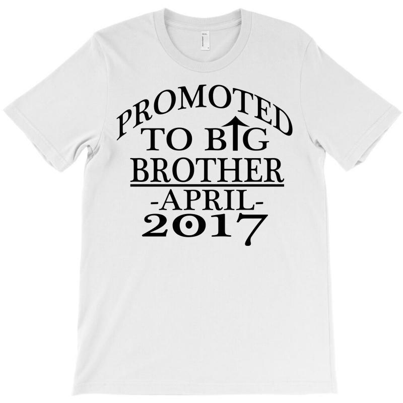 Promoted To Big Brother T-shirt   Artistshot