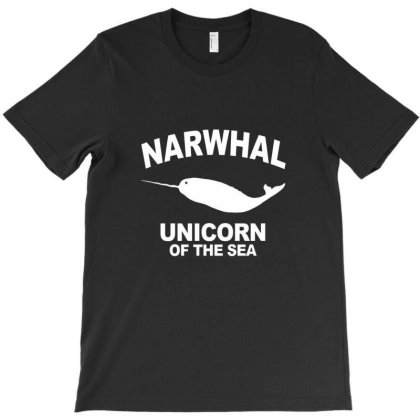 Narwhal Unicorn Of The Sea T-shirt Designed By Gotlle