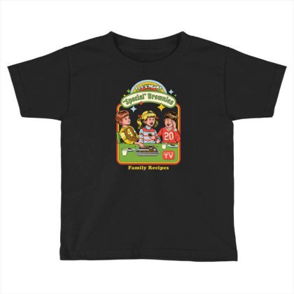 Let's Make Brownies Toddler T-shirt Designed By Brandy