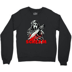ghostface scream mask classic t shirt Crewneck Sweatshirt | Artistshot