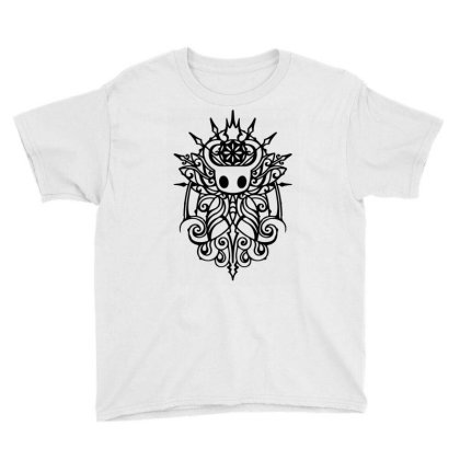 Hollow Knight Tribal White Classic T Shirt Youth Tee Designed By Artdesigntest