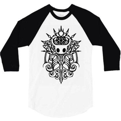 Hollow Knight Tribal White Classic T Shirt 3/4 Sleeve Shirt Designed By Artdesigntest