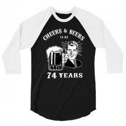cheers and beers 74 3/4 Sleeve Shirt | Artistshot