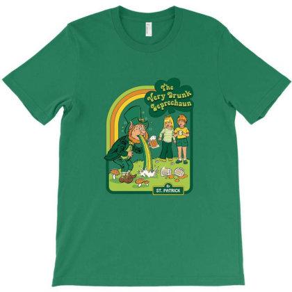 The Very Drunk Leprechaun Hardcover T-shirt Designed By Brannan