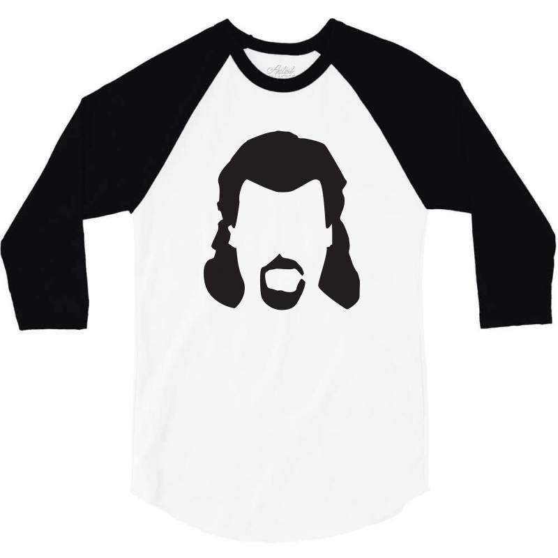 Kenny Powers Mullet 3/4 Sleeve Shirt | Artistshot