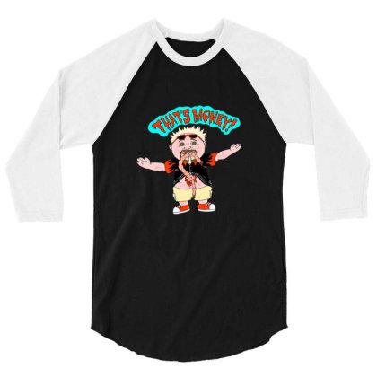 Garbage Food Guy 3/4 Sleeve Shirt Designed By Blackstone