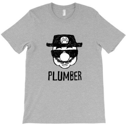 Plumber T-shirt Designed By Davins