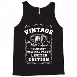 well aged original parts limited edition 1940 Tank Top | Artistshot