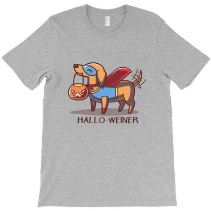 Hallo Weiner T-shirt Designed By Davins