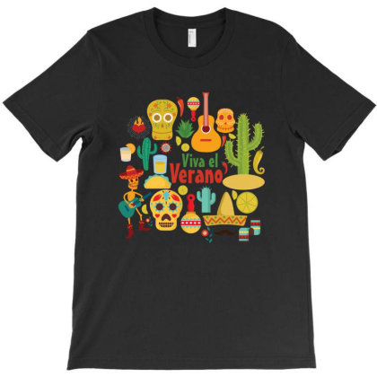 Mexican Musician T-shirt Designed By Chiks
