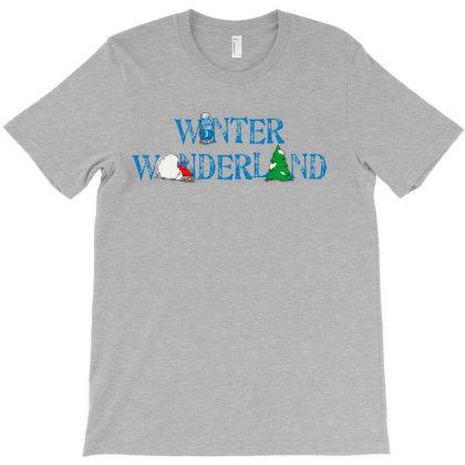 Winter Wonderland T-shirt Designed By Chiks