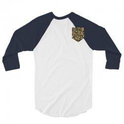 cheetah print pocket 3/4 Sleeve Shirt | Artistshot