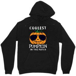 funny halloween coolest pumpkin in the patch Unisex Hoodie   Artistshot