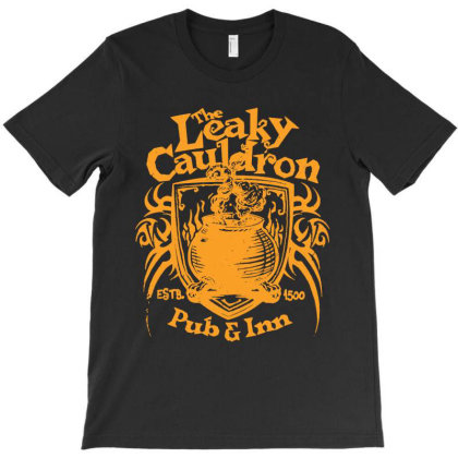 The Leaky Cauldron T-shirt Designed By Trusttees