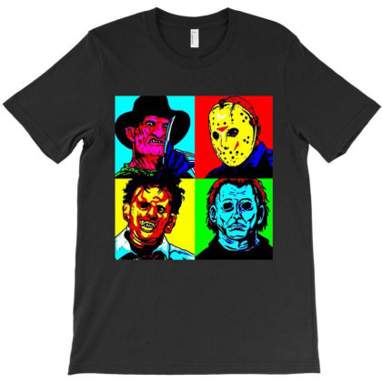 Horror Squad T-shirt Designed By Trusttees