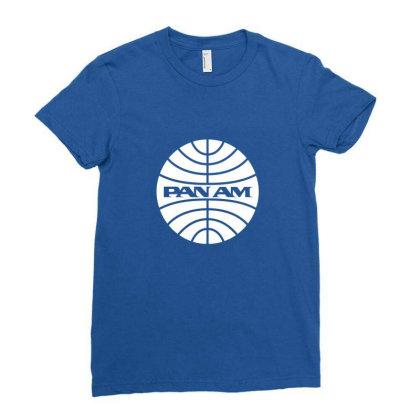 Flight Attendant Ladies Fitted T-shirt Designed By Gabriel Triajaya